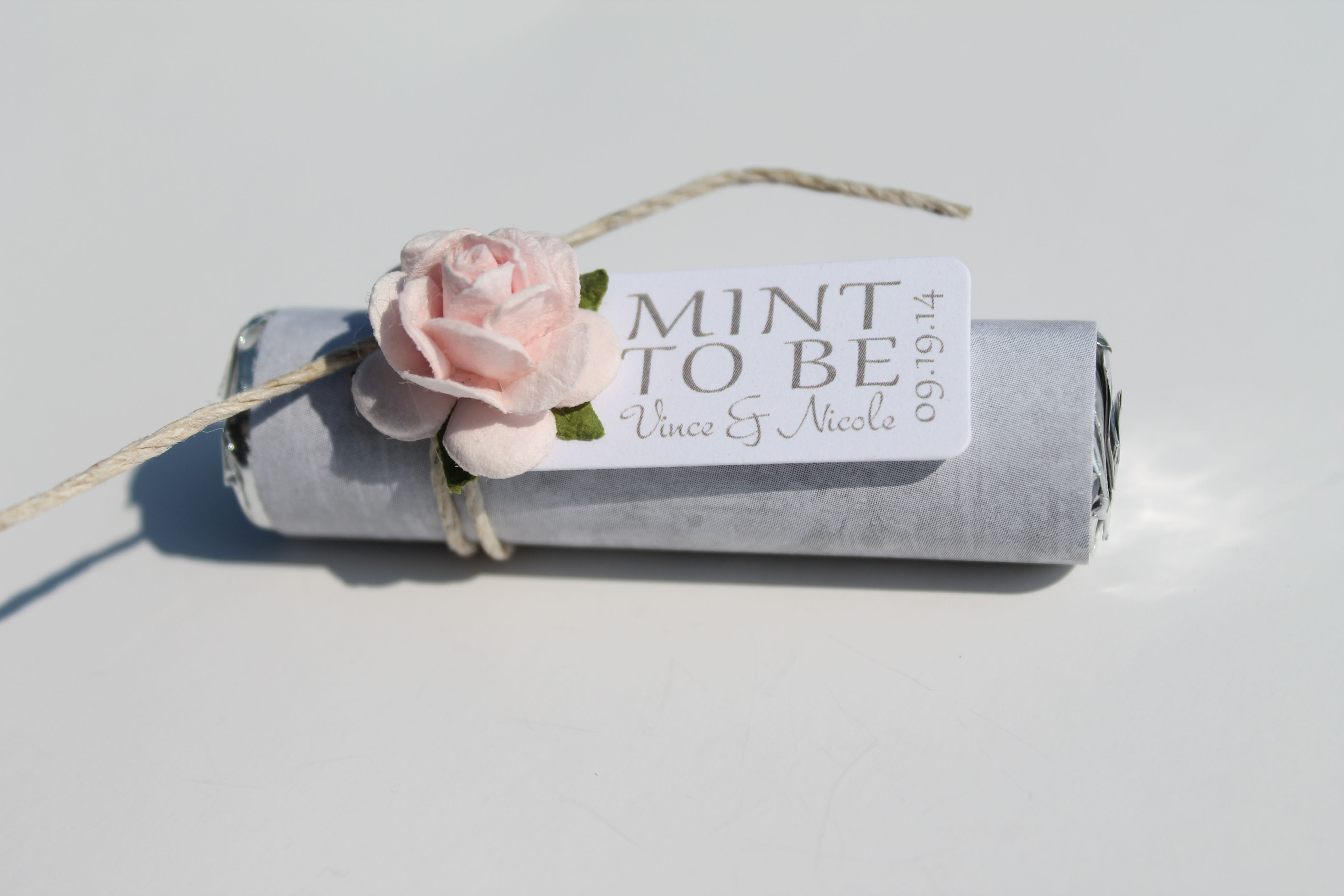 blush pink and grey, beautiful wedding favor, unique favors | Blush ...