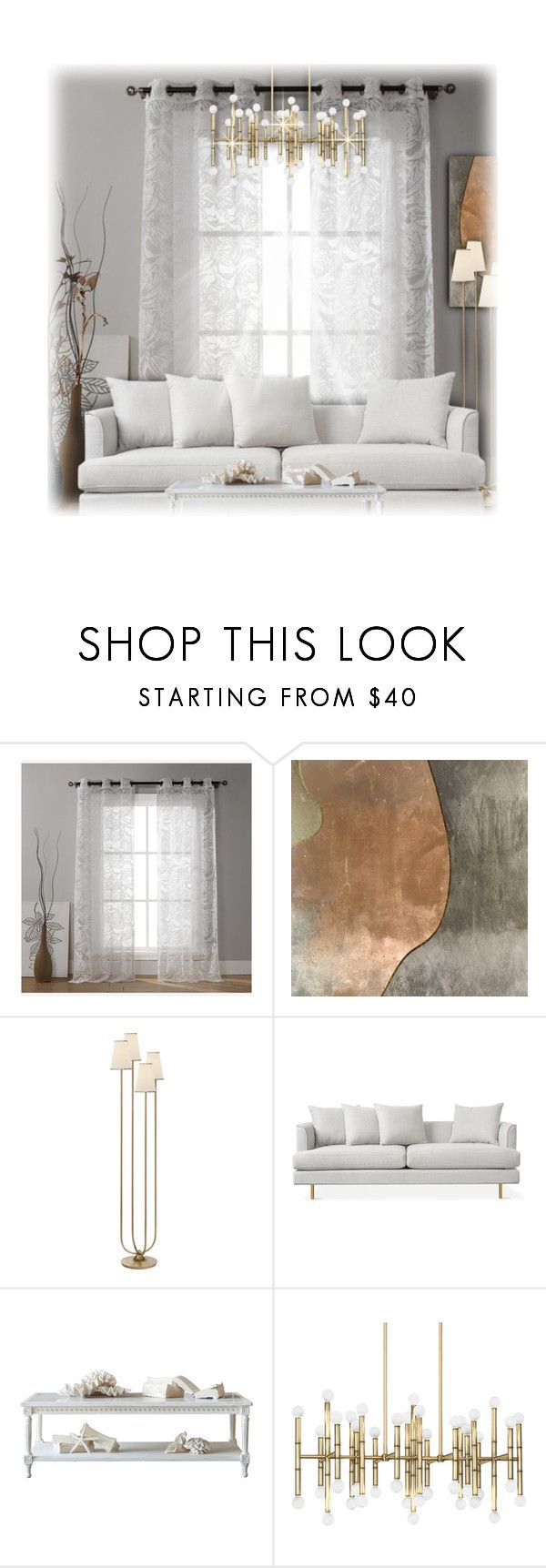 """""""Whispers - Home"""" by nonniekiss ❤ liked on Polyvore featuring interior, interiors, interior design, home, home decor, interior decorating, Duck River Textile, Trilogy, AERIN and Jonathan Adler"""