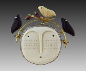 Secret Life of Jewelry - A Universe of Handcrafted Art to Wear: Carolyn Morris Bach Jewelry