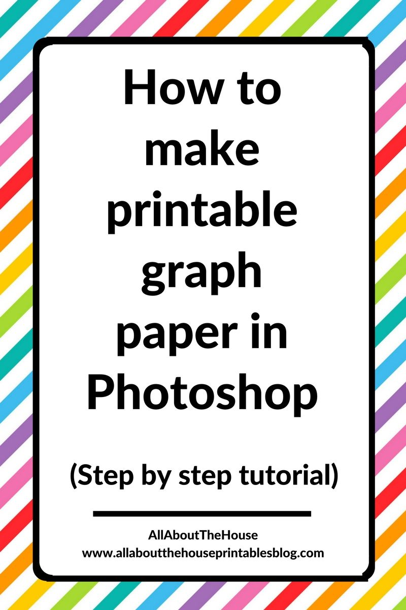 How to make printable graph paper in (perfect
