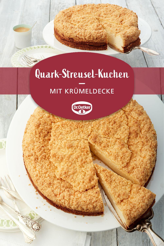 Quark-Streusel-Kuchen #menus