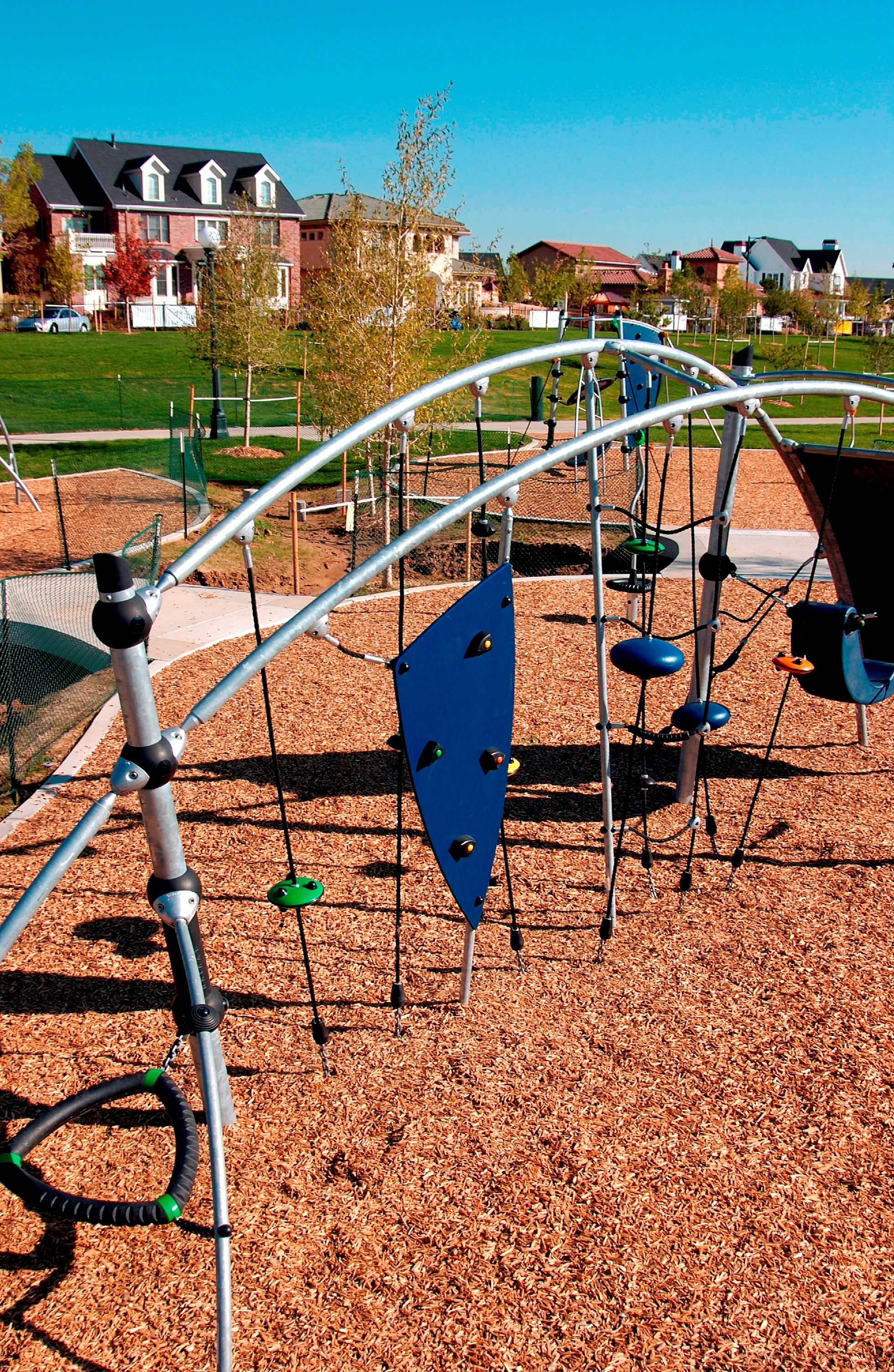 There Are Fun Jungle Gyms All Over Stapleton Denver Co Pocket Park Jungle Gym Playground