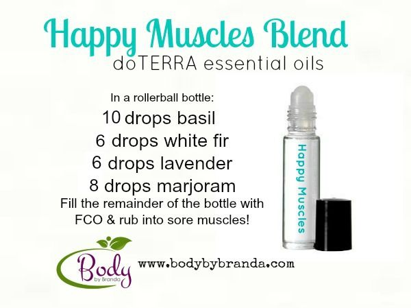 Happy Muscles Blend ~~ doTERRA Essential Oils