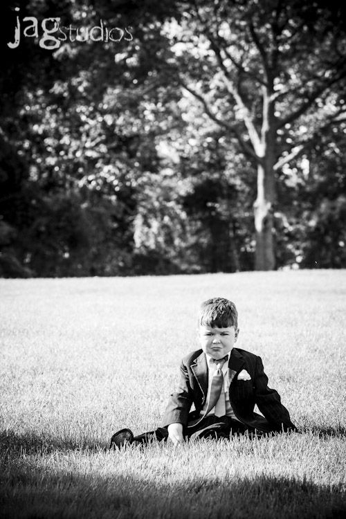 Kids at Weddings Rhode Island Wedding :: Barrington