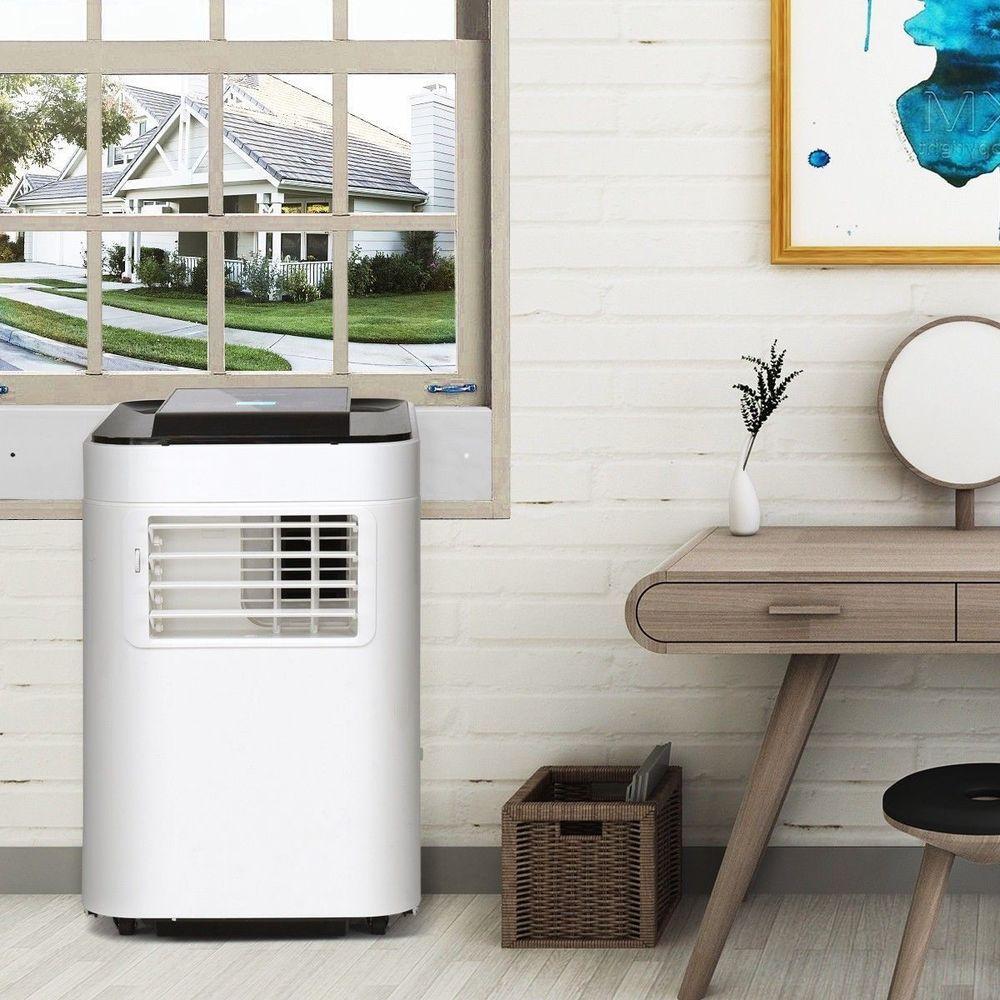 Portable Air Conditioner Ac Unit Dehumidifier Remote Small Room