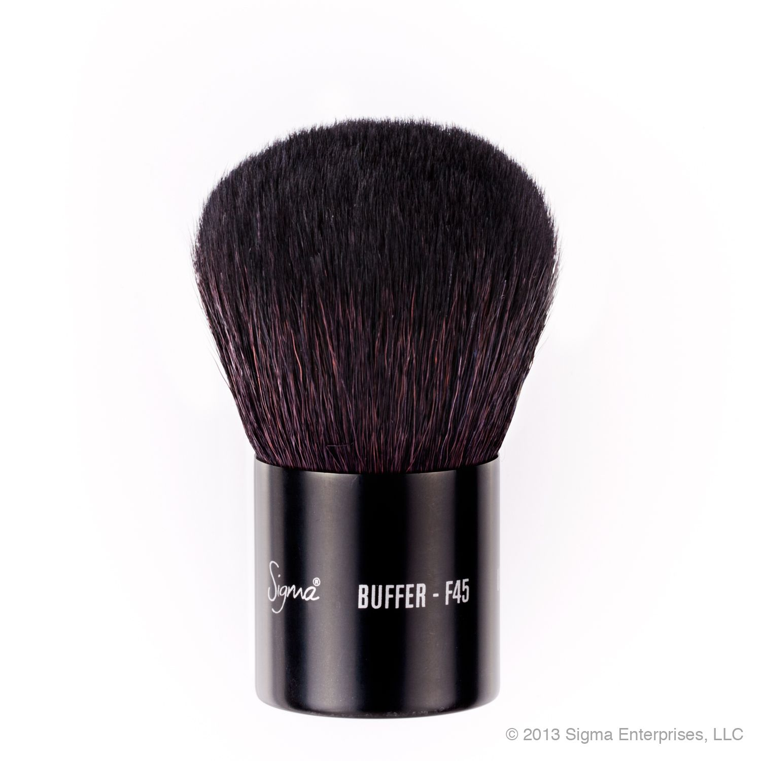 Buff mineral powder products onto the skin with a circular motion for the best effect.