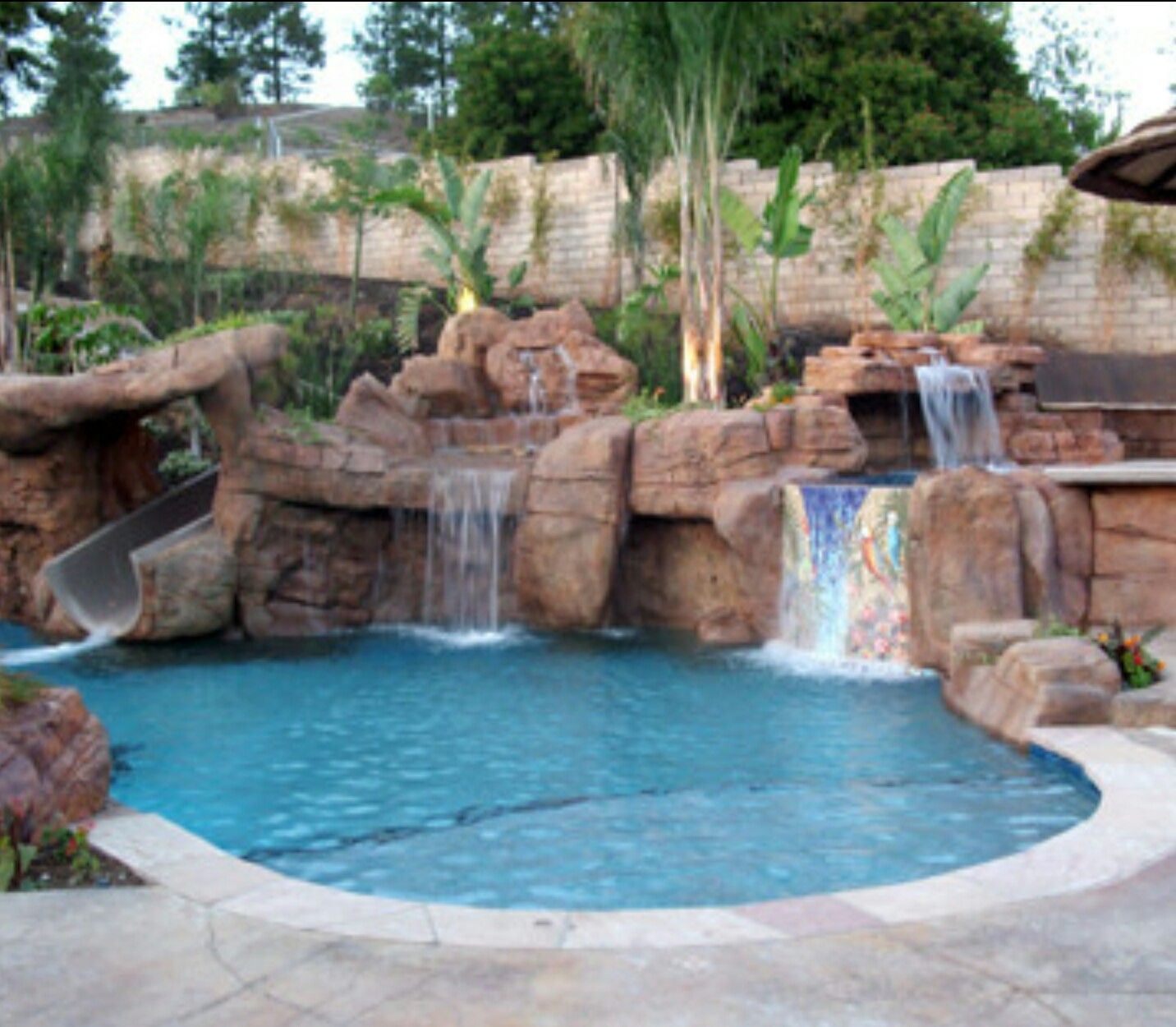 Backyard Pool Landscaping, Pool