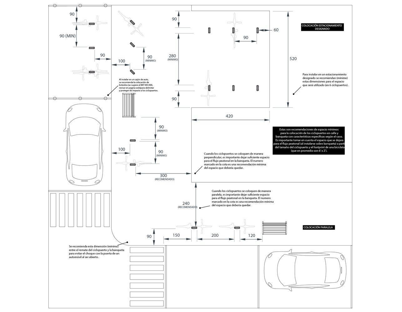 Gallery Of Bike Parking Design Guidelines 23 Galeria