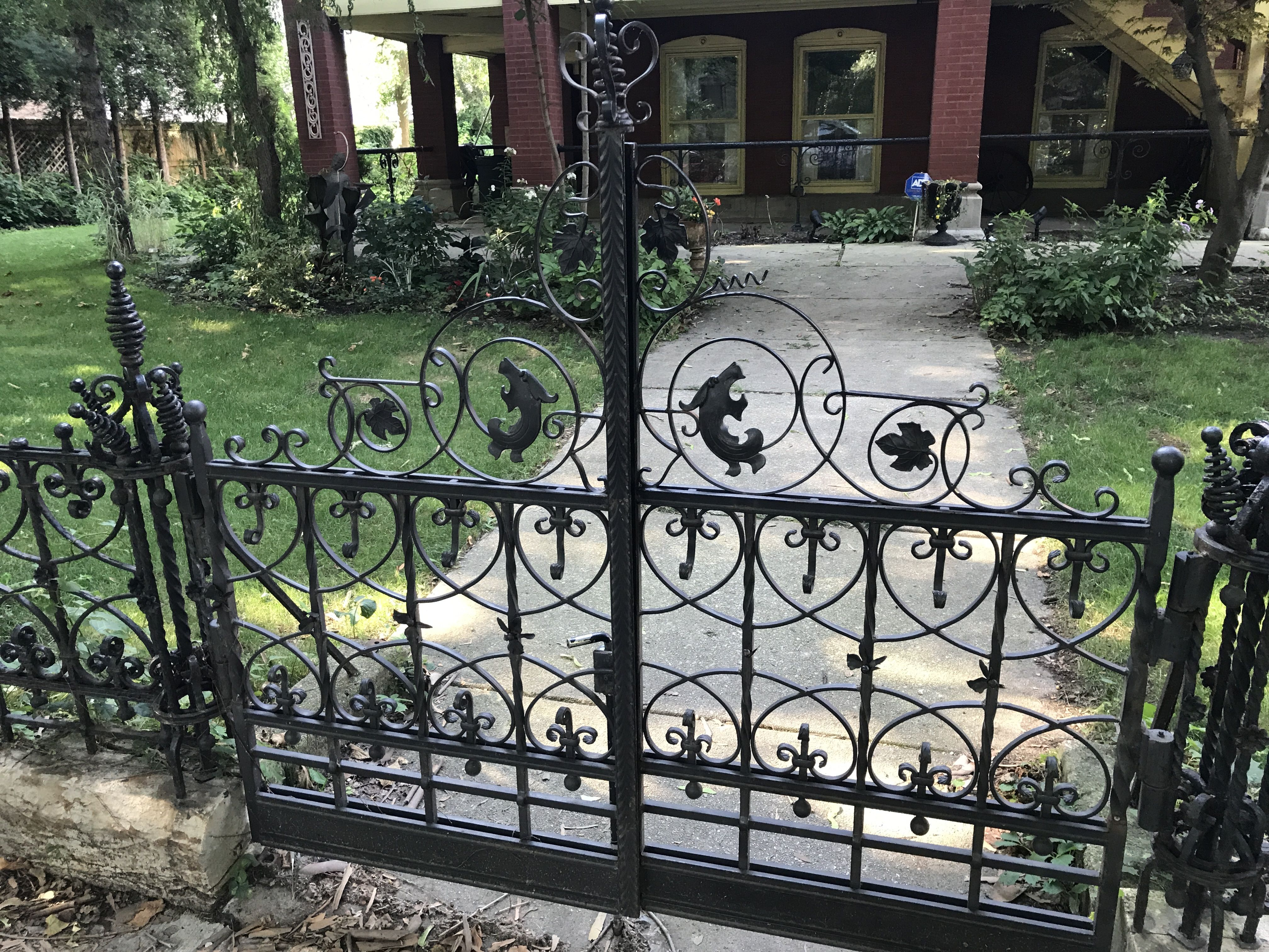 Wrought Iron Fence Chicago Wicker Park Wrought Iron Fences