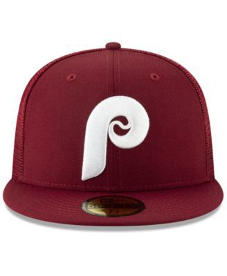 70c21f8d New Era Philadelphia Phillies Coop All Day 59FIFTY-fitted Cap - Red 7 3/8
