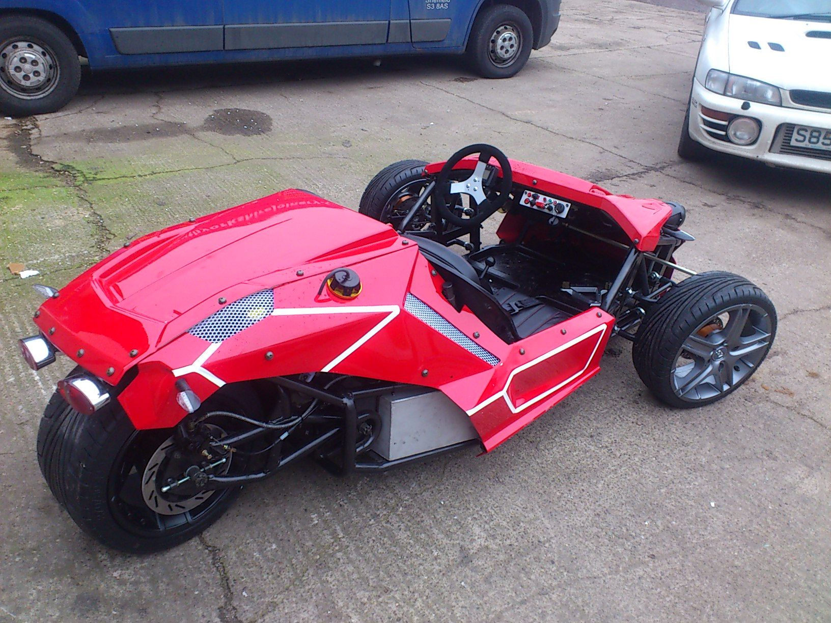 Awesome Street Legal 3 Wheeler Sports Car 6 000 Scorpionsportscars