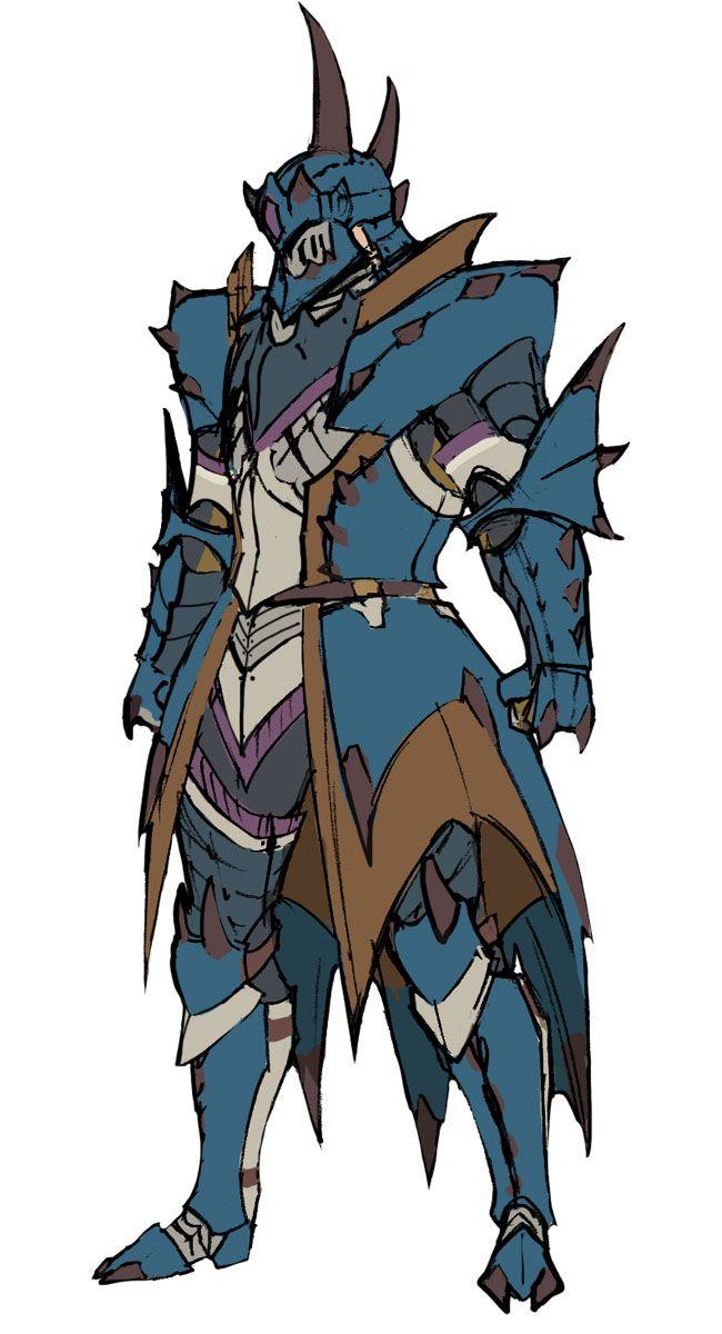 Monster Hunter Tri Male Lagiacrus Armor Monster Hunter Art