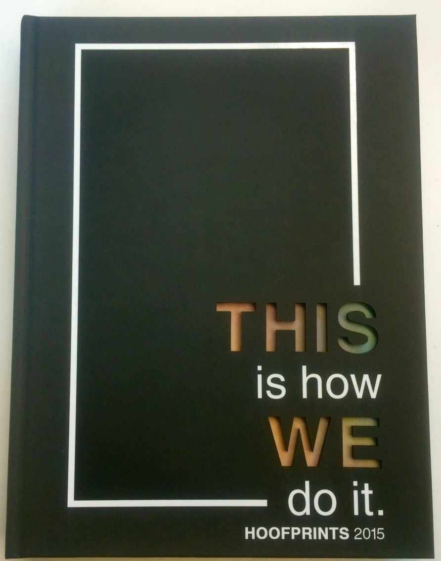 White Yearbook Cover : Mira costa high school hoofprints this is how we do it