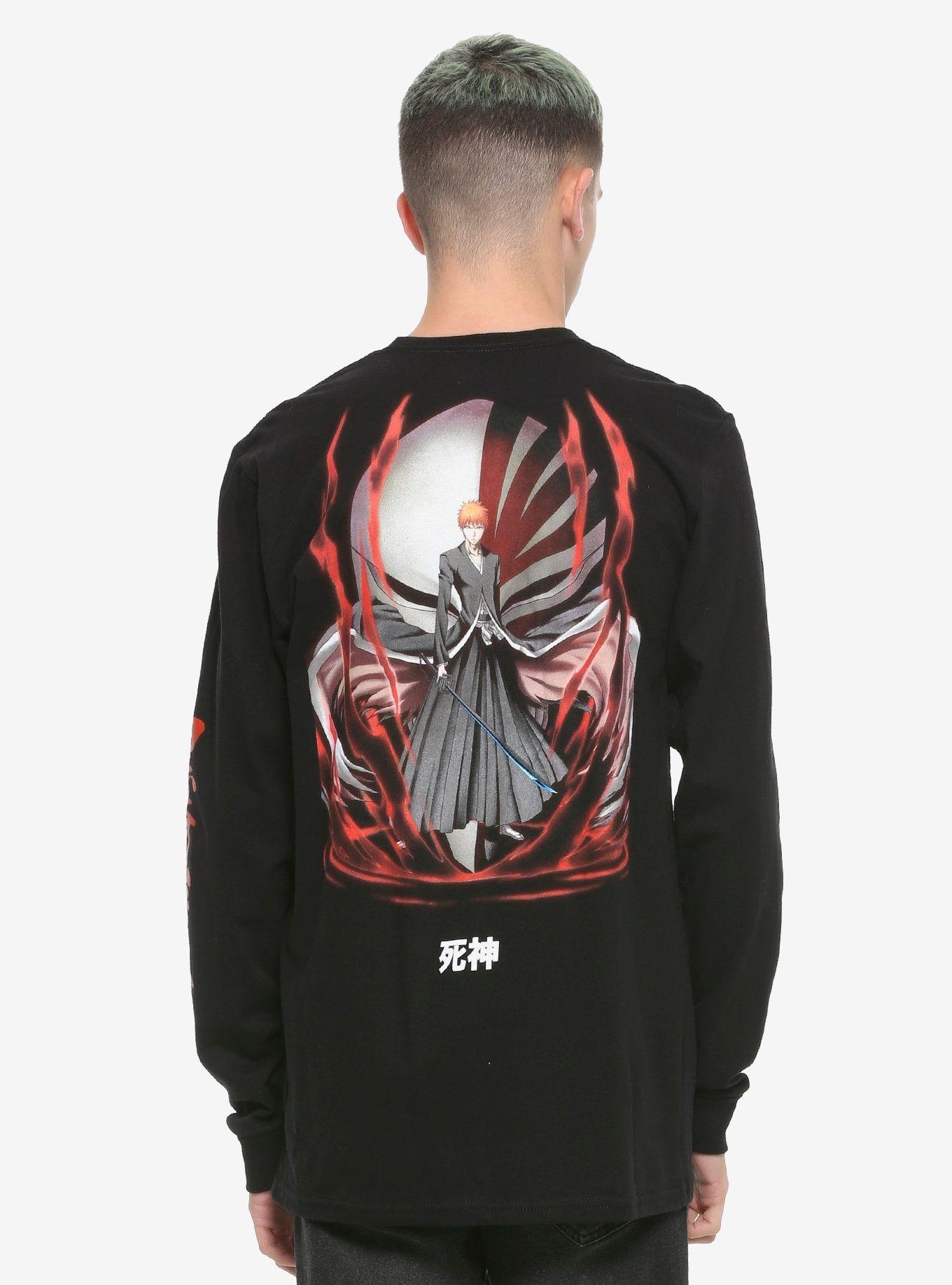 Bleach ichigo mask longsleeve tshirt shirts graphic