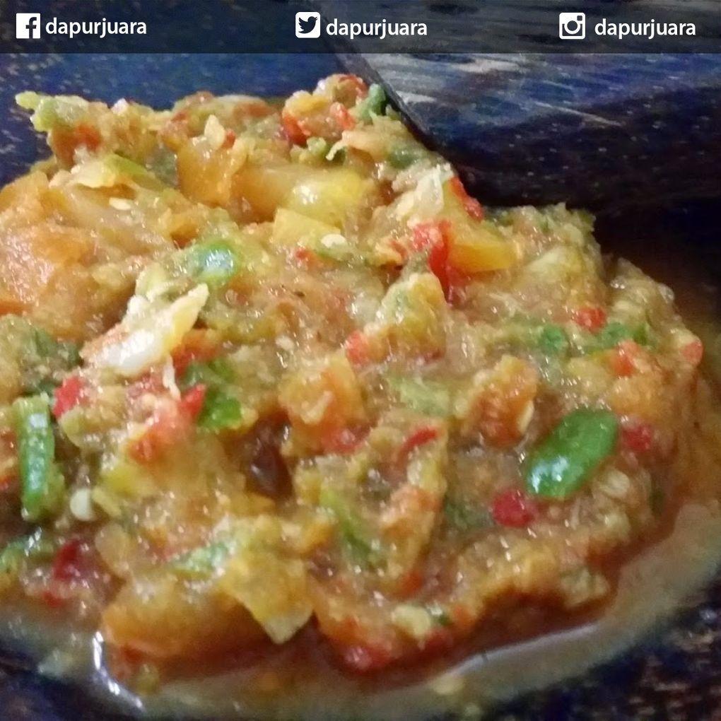 Dapur Juara On Instagram Sambal Kencur Bahan 15 Cm Kencur Dikupas 10 Buah Cabe Merah 5 Buah Cabe Rawit 2 Siung Resep Makanan Makanan Bawang Putih