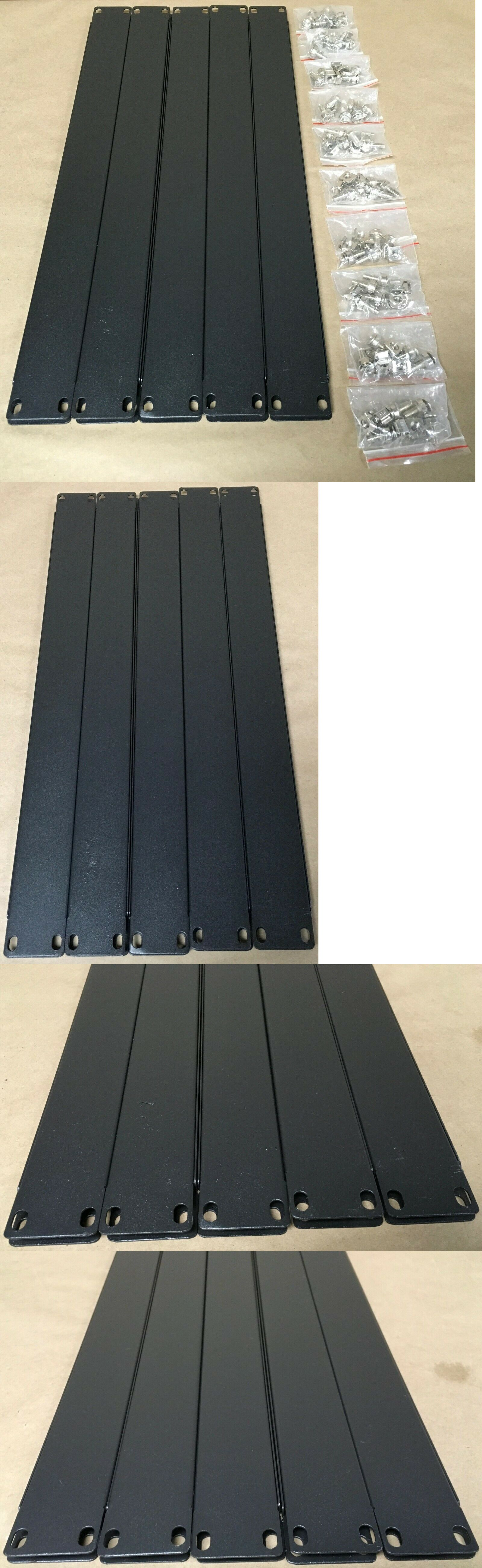 Rackmount Cabinets And Frames 51199 V7 Rack 1u Blank Panel For Unused Rack Space 10 Pack Black Rmblank1u10 1n Buy It Now Rack Paneling Wall Mount Rack