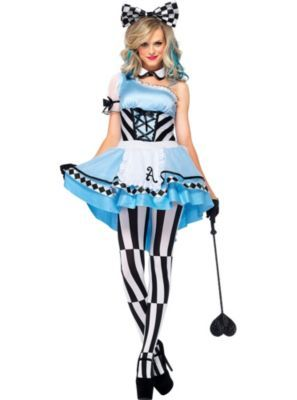 Adult Harlequin Alice Costume for next year