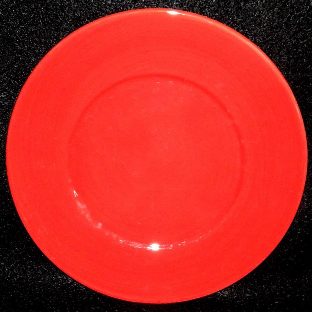 Lot of 3, Tabletops Gallery Unlimited, MISTO Red Dinner Plates Hand ...