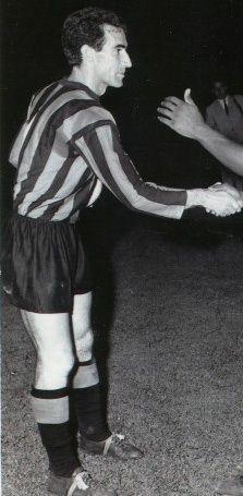Armando Picchi - heads team of the Inter champion Cup 1963 - 1966