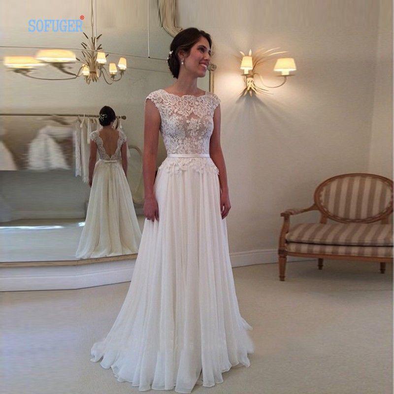 vestido de noiva simples vestido de noiva para dia ...