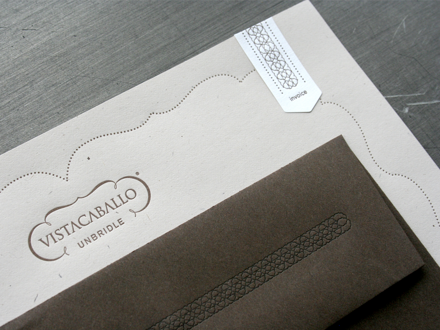 Benign Objects: Vista Caballo Letterhead