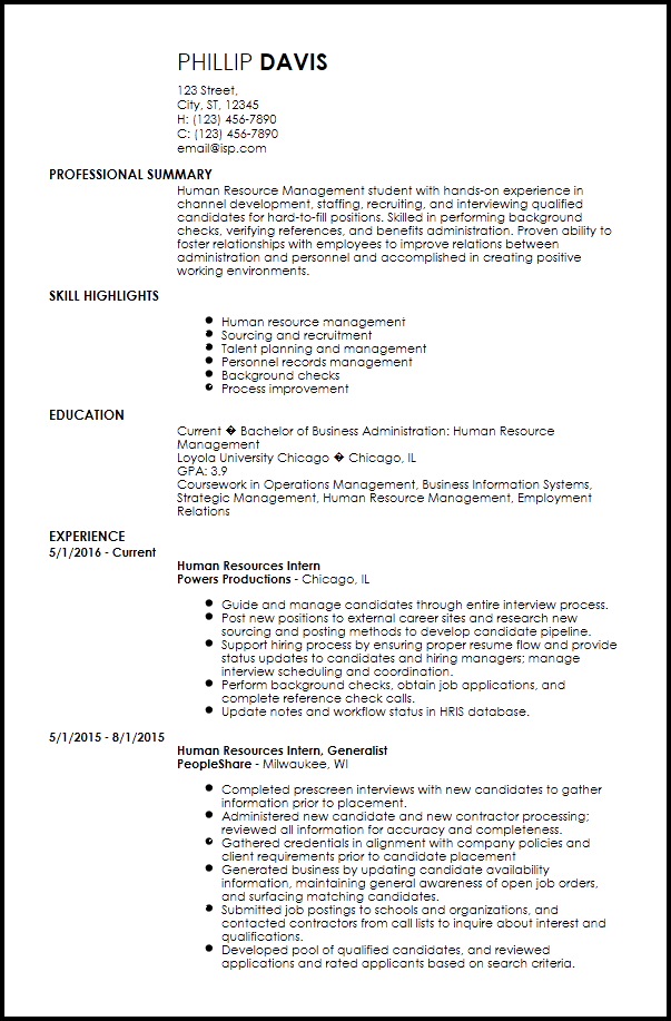 Resume Template Internship 1 Templates Example Templates Example Internship Resume Resume Templates Job Resume Template