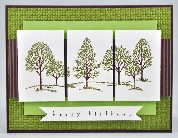 Happy Birthday Greeting Card Birthday Masculine For Him For – Nature Birthday Card