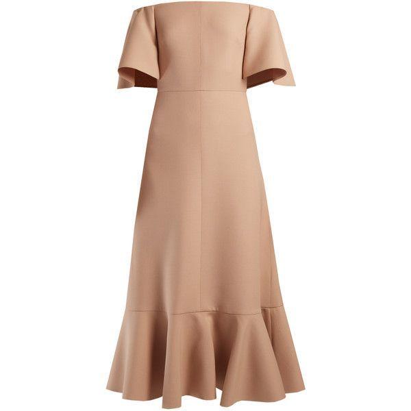 Cream-colored dress Valentino uL083fP0V