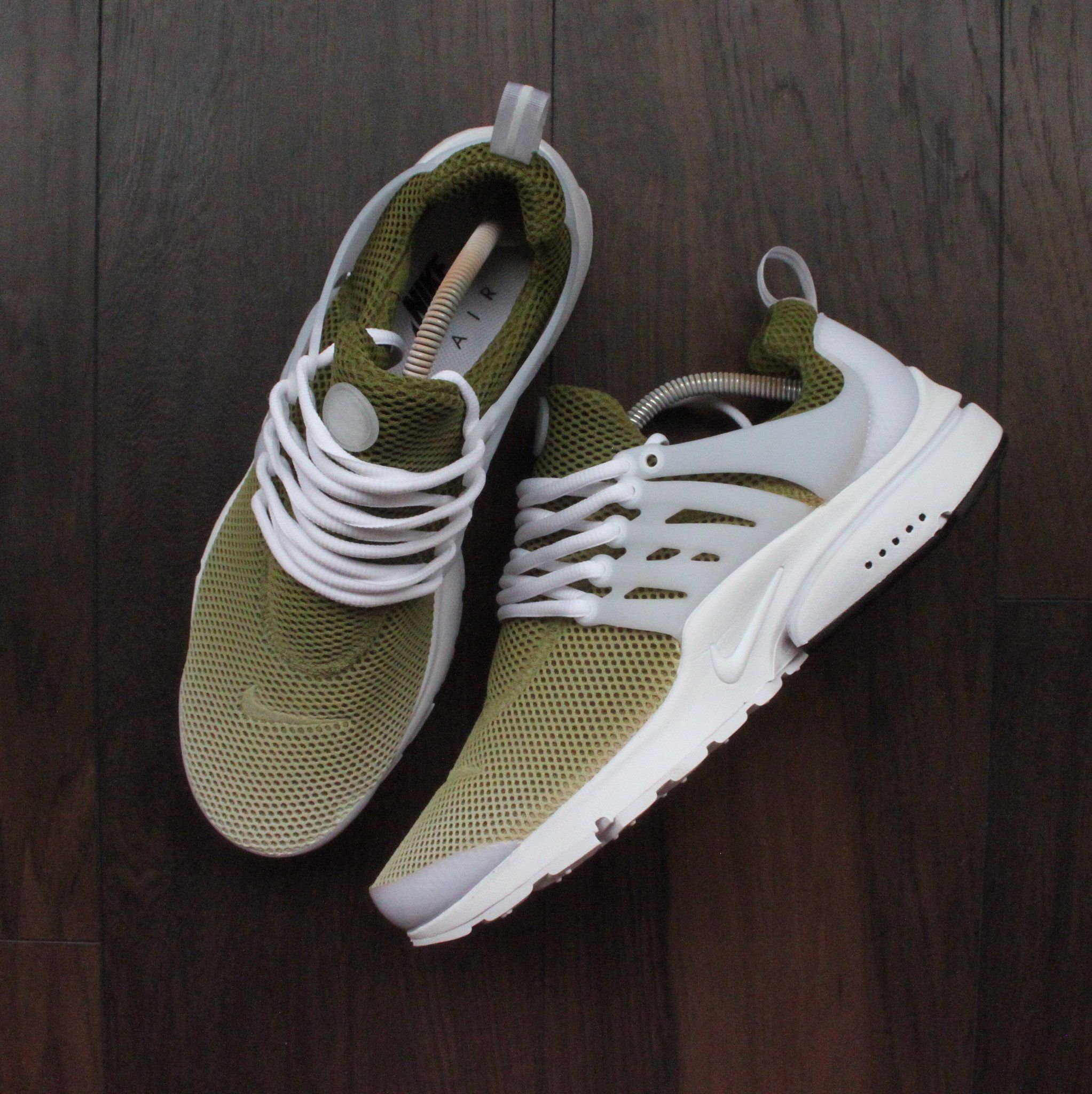 on sale 8e612 67e34 Custom Khaki Nike Air presto Men's And Womens Shoes ...