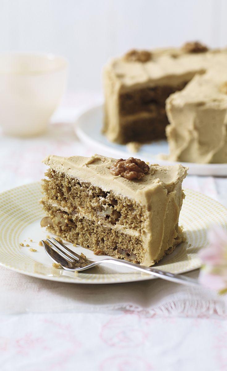 Coffee And Walnut Layer Cake Good Housekeeping