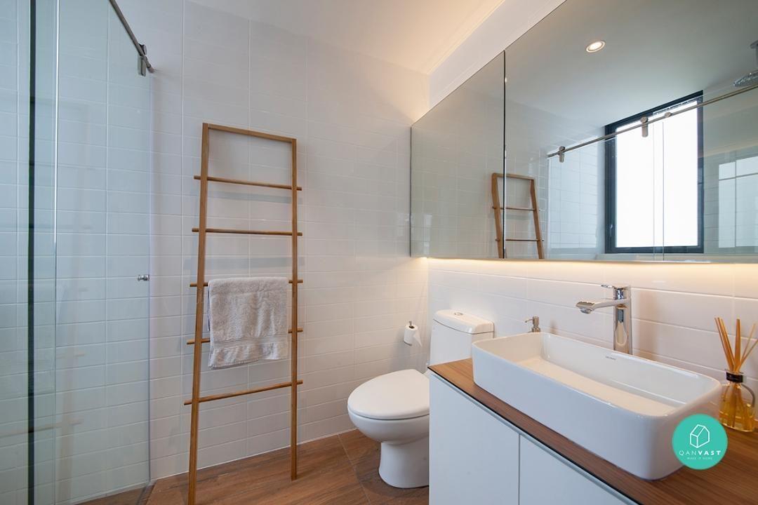 9 HDB Bathroom Transformations For Every Budget Bathroom makeovers