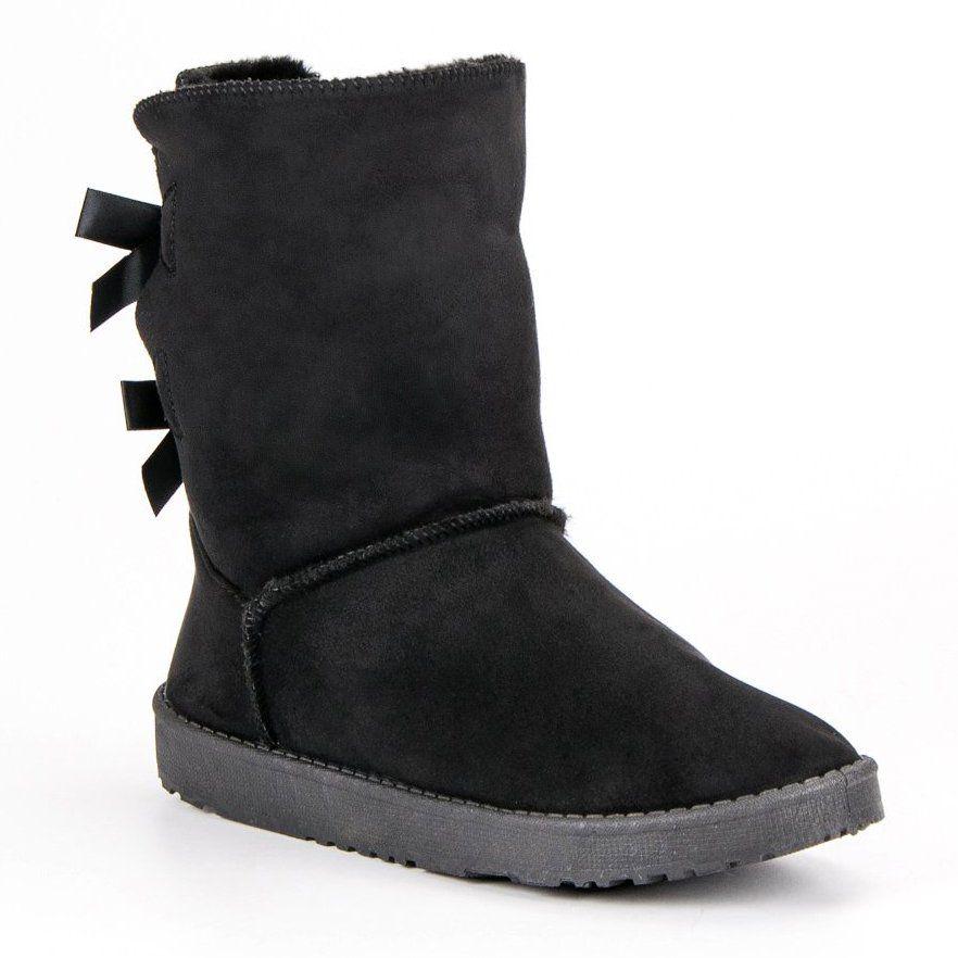 Wysokie Mukluki Czarne Boots Ugg Boots Uggs
