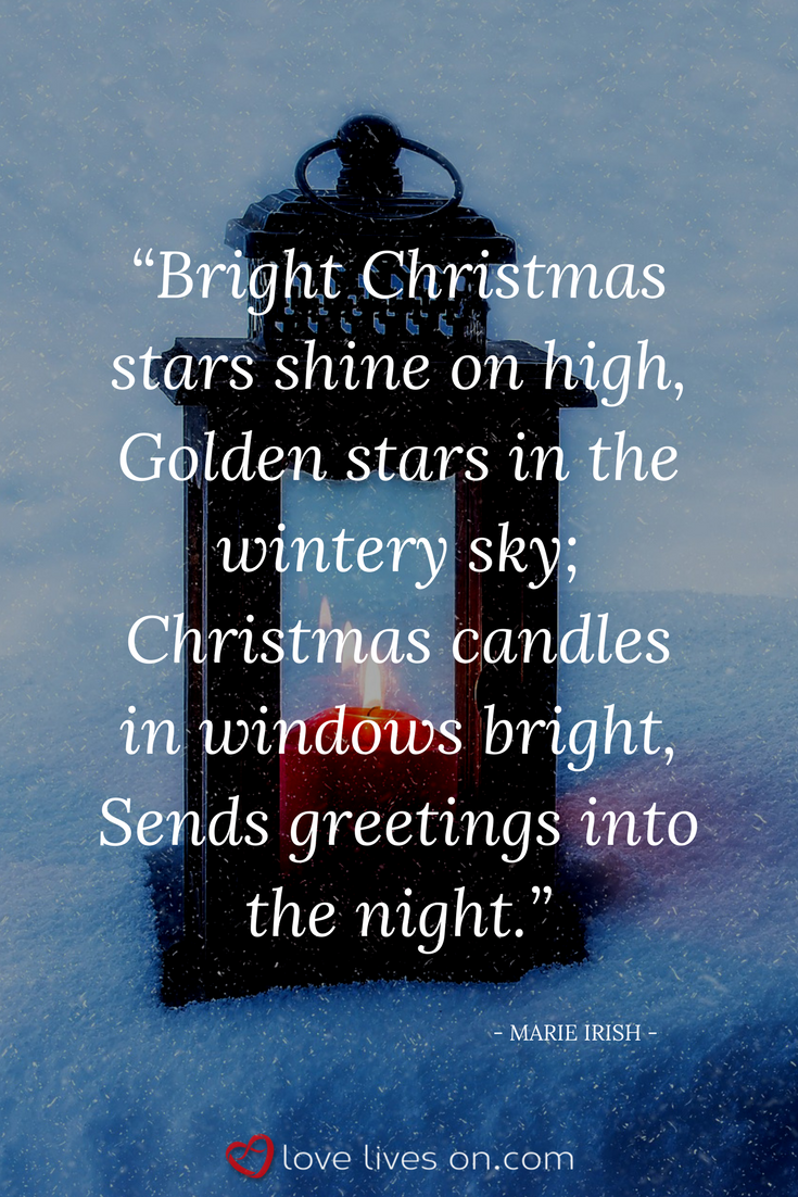 christian christmas poems religious christmas quotes a quote from the christian christmas poem christmas lights by marie irish