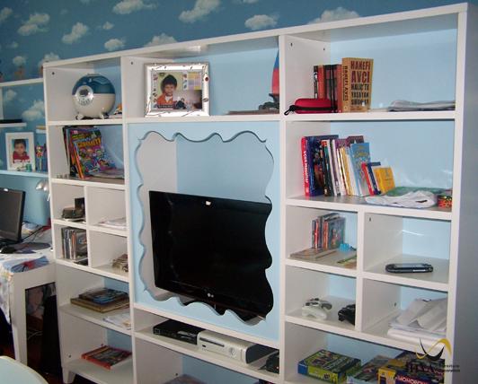 Modern Genc Oda Kitaplik Dizayn Modern Young Room Bookcase Design