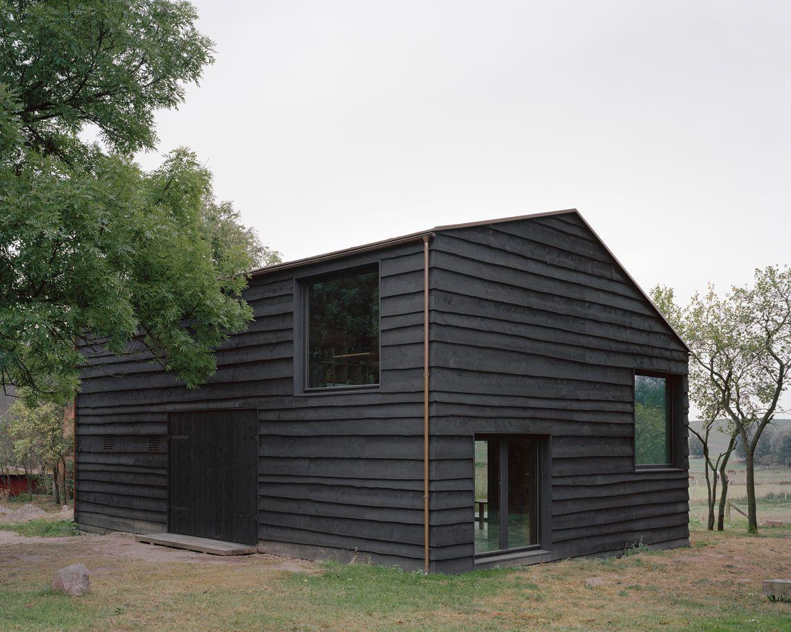 AFF Architekten & Stephan Hahn Architekt - House Lindetal, Mecklenburg 2016. Photo © Hans-Christian Schink.