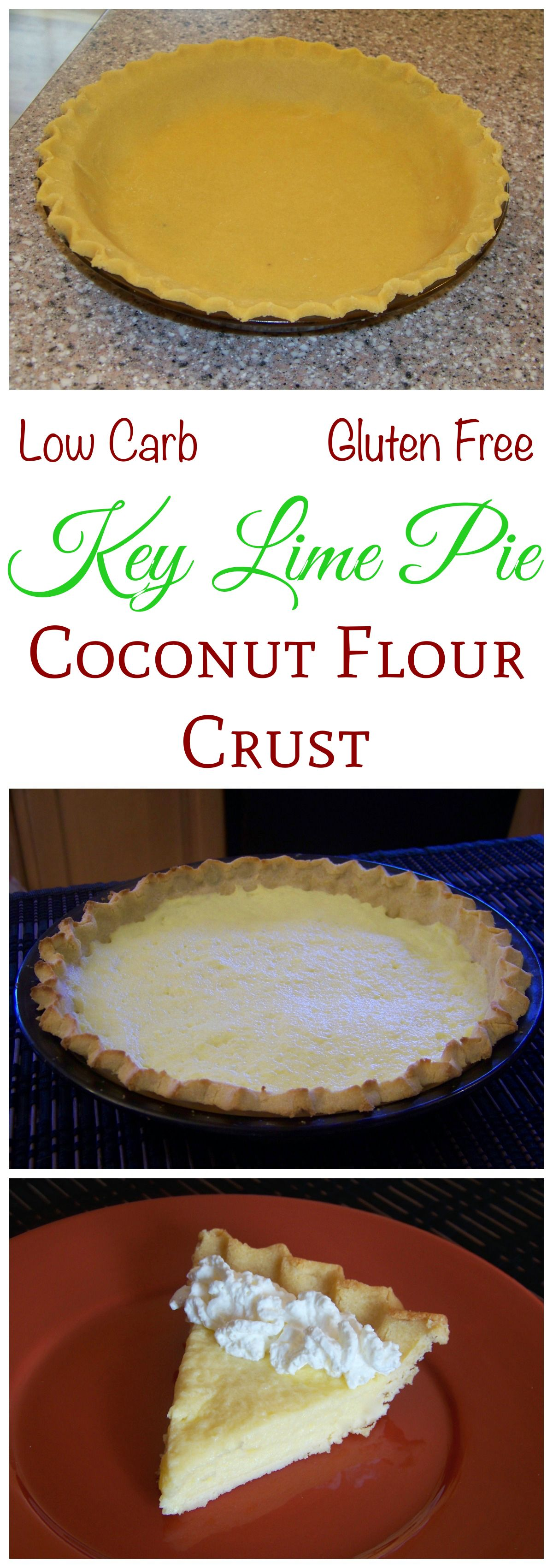 how to make gluten free pie crust with coconut flour