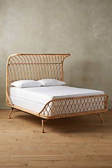 curved rattan bed - Rattan Bed Frame