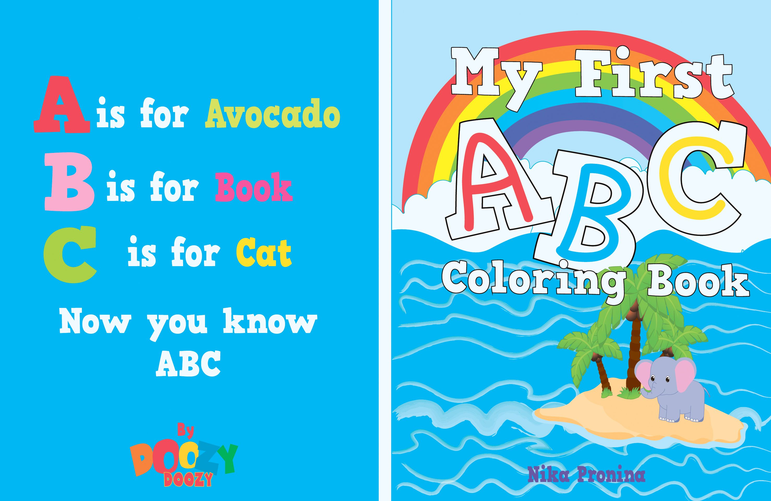 My First Abc Coloring Book By Nika Pronina On Amazon Abc Coloring Coloring Books Cat Coloring Book