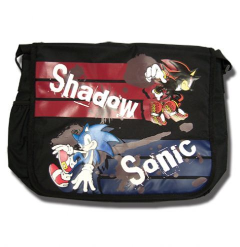 Shadow the Hedgehog chair | Red and Blue Shadow Sonic the Hedgehog Messenger Bag | OtakuFuel