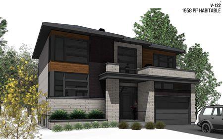 Plan croquis d\u0027architecture maison neuve à étages - cottage