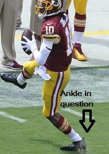 Returning Too Soon After Ankle Dislocation Football Injury Football Injuries Injury Report