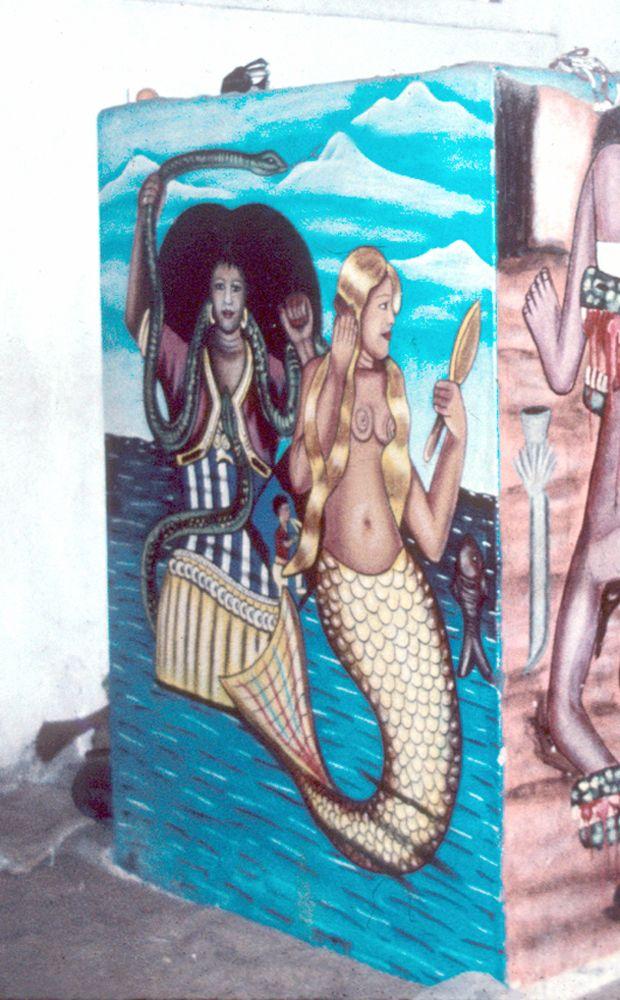 Benin, Fon peoples. Mamy Wata figure. Photo by Dana Rush.