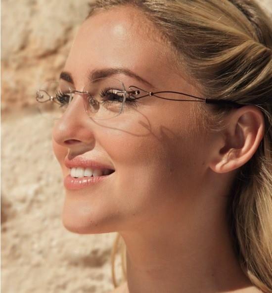 Eu uso Óculos  Os Delicados e Lindos óculos de grau   beautiful gals ... 43214a605e