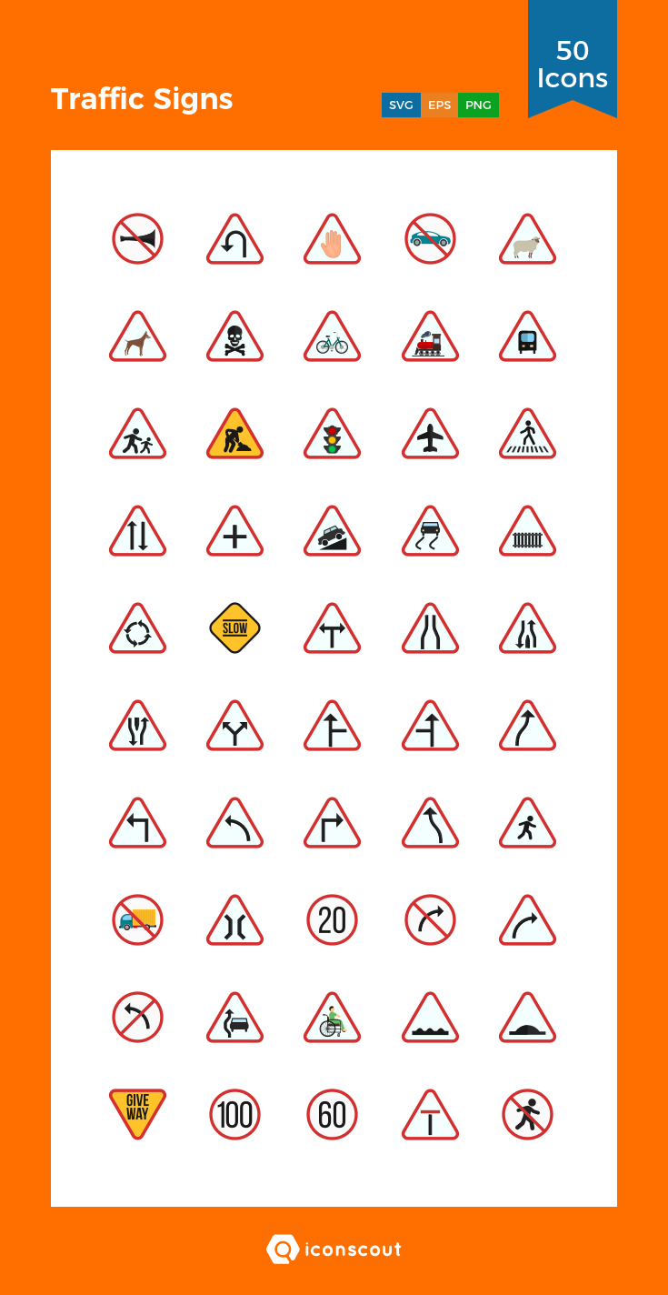 Download Traffic Signs Icon Pack Available In Svg Png Eps Ai Icon Fonts Traffic Signs Icon Pack Icon