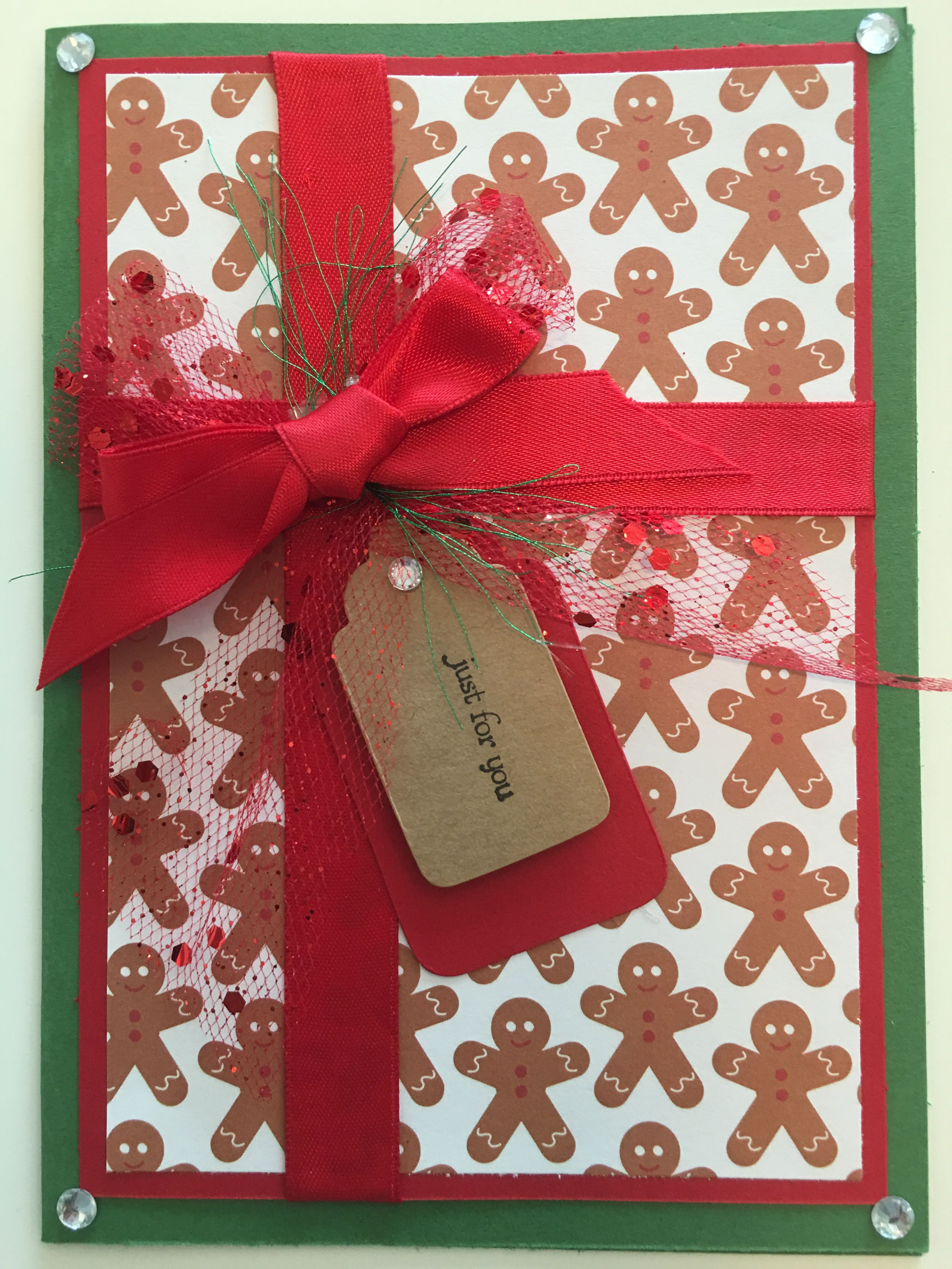 Cby Handmade Christmas Greeting Card Cby Christmas Cards