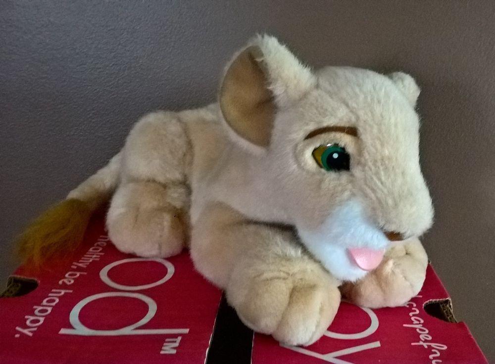 Disney Lion King Simba's Pride Plush Tongue Licks Young