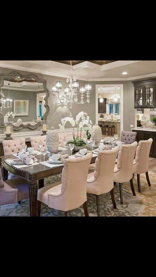 Luxury Formal Dining Room Sets: Dining Room, Elegant Dining Room