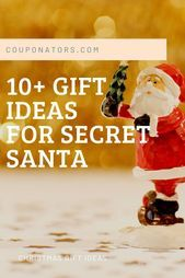 10  Awesome Ideals for Secret Santa Gifts,  #Awesome #ChristmasGiftIdeassecretsanta #Gifts #I... #secretsantagifts