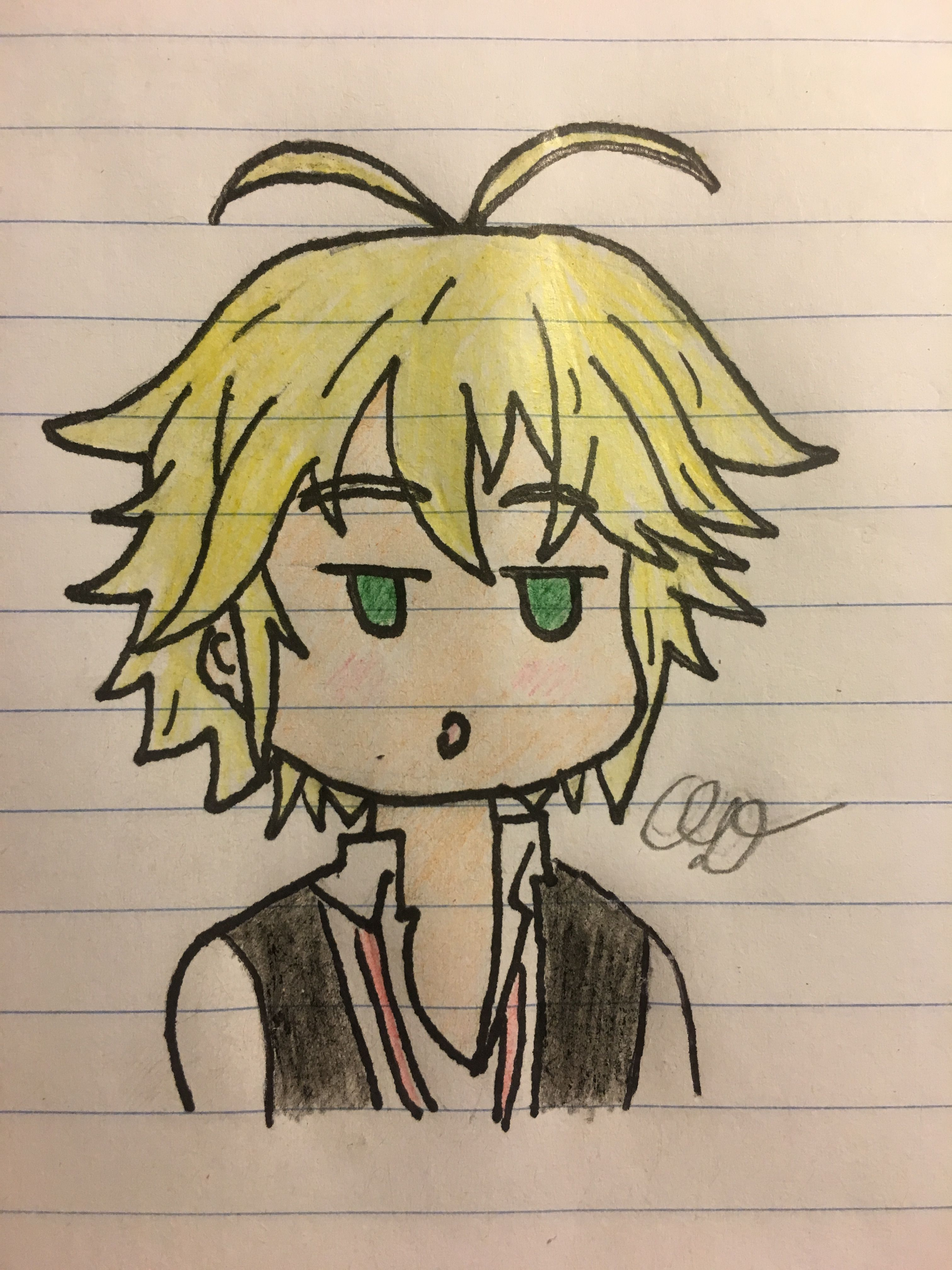 I Drew Chibi Meliodas And It Turned Out So Cute Seven Deadly Sins