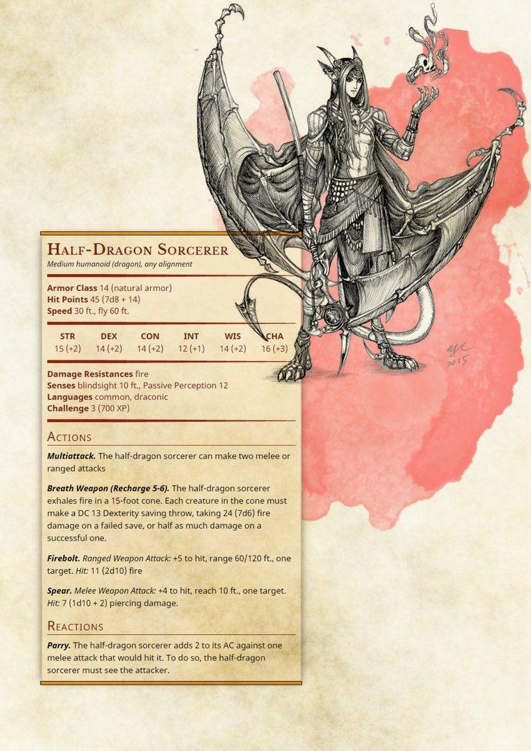 31++ Dnd draconic ideas